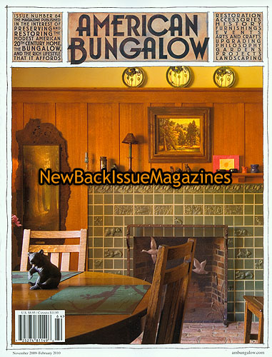 American bungalow 12 09 living room december 2009 new ebay for American bungalow collection
