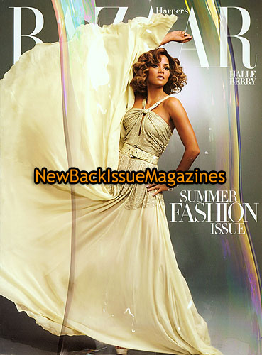 bazaar 5 09 halle berry subscription cover may 2009 new ebay. Black Bedroom Furniture Sets. Home Design Ideas