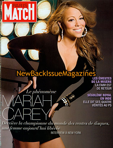 French Paris Match 4/08,Mariah Carey,April 2008,NEW | eBay