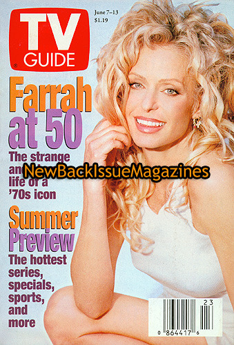 Tv Guide 6 97 Farrah Fawcett Leann Rimes June 1997 New Ebay